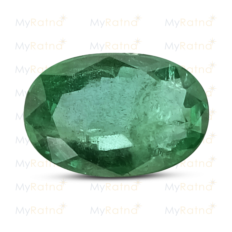 Certified Natural Emerald 2.83 Ct (Zambia) - Prime - MyRatna