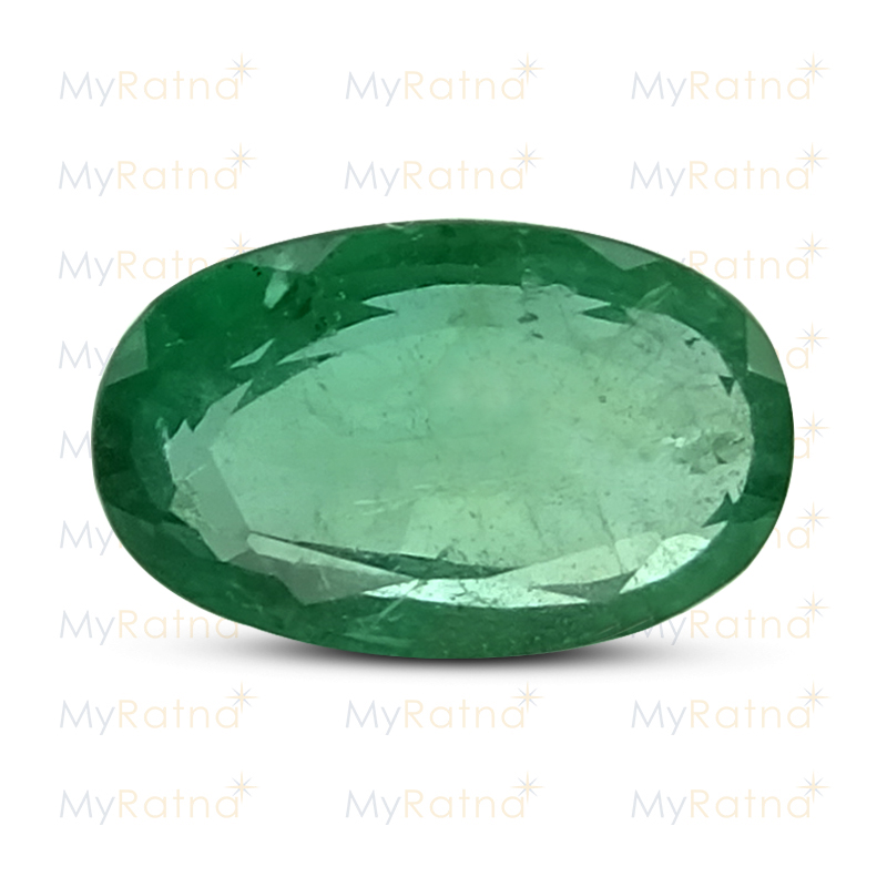 Certified Natural Emerald 2.66 Ct (Zambia) - Prime - MyRatna