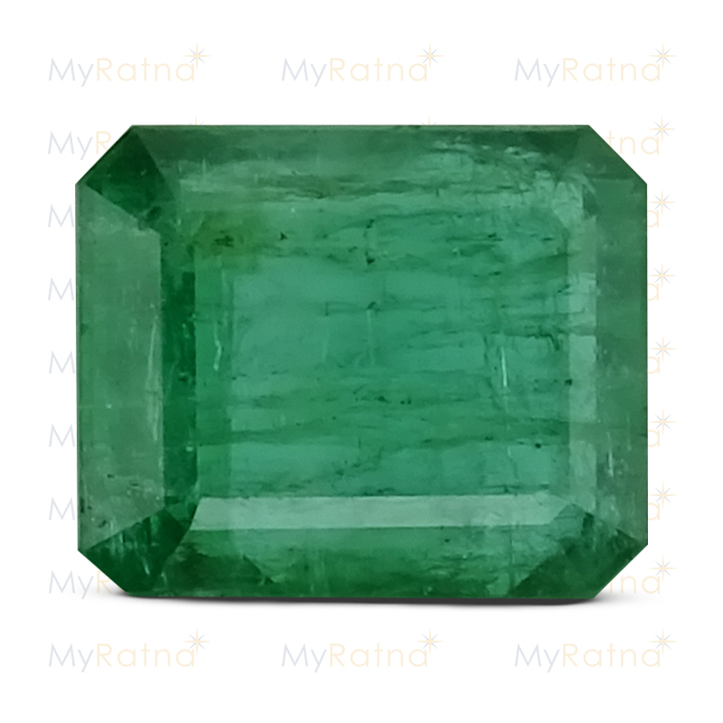 Certified Natural Emerald 10.01 Ct (Zambia) - Prime - MyRatna