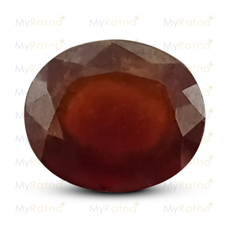 Certified Natural Hessonite Garnet 5.27 Ct (Africa) - Prime - MyRatna