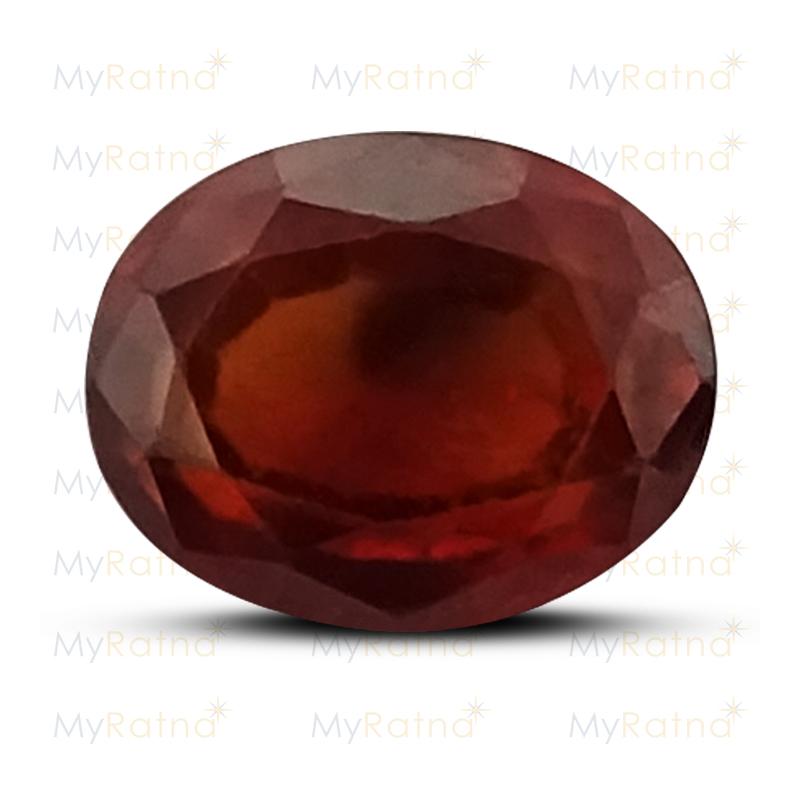 Certified Natural Hessonite Garnet 2.94 Ct (Africa) - Prime - MyRatna