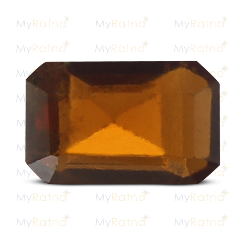 Certified Natural Hessonite Garnet 3.5 Ct (Africa) - Prime - MyRatna