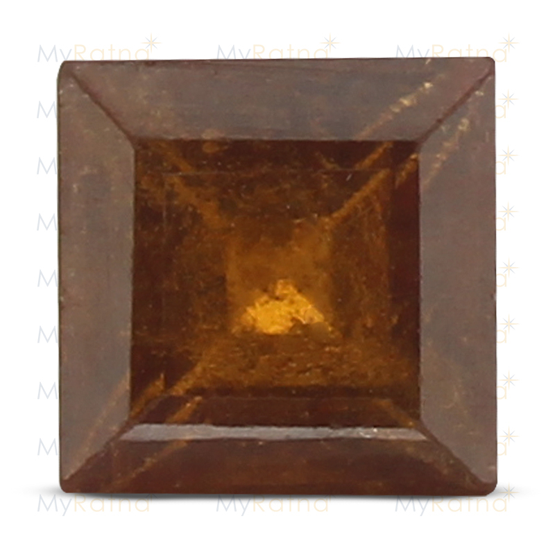 Certified Natural Hessonite Garnet 3.3 Ct (Africa) - Prime - MyRatna