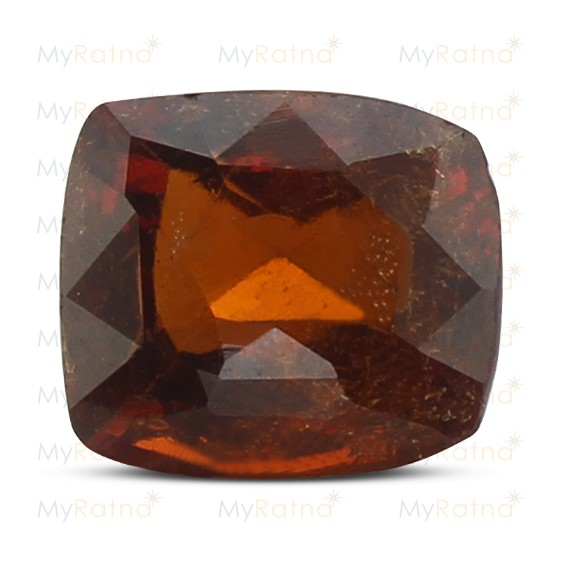 Certified Natural Hessonite Garnet 4.86 Ct (Ceylon) - Prime - MyRatna