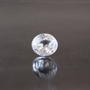 White Zircon - NZ 17024 (Origin - Ceylon) Limited - Quality  - MyRatna
