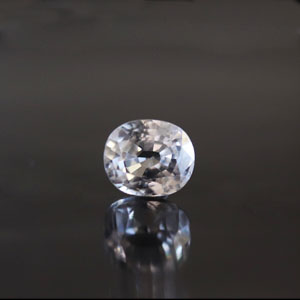 White Zircon - NZ 17026 (Origin - Ceylon) Limited - Quality  - MyRatna