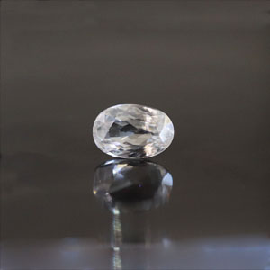 White Zircon - NZ 17031 (Origin - Ceylon) Limited - Quality  - MyRatna