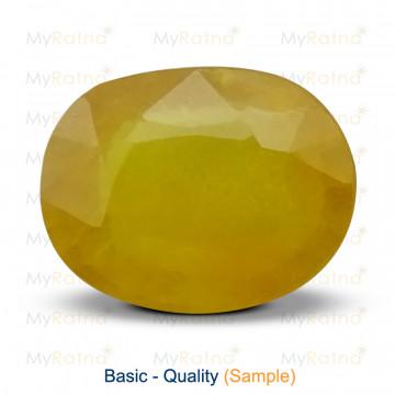 Yellow Sapphire - Basic Quality - MyRatna