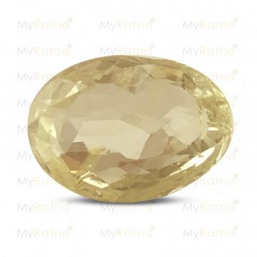 Yellow Sapphire - Fine Quality - MyRatna