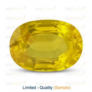 Yellow Sapphire - Limited Quality - MyRatna
