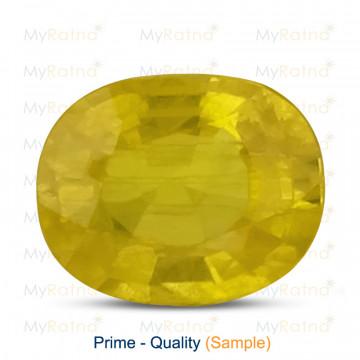 Yellow Sapphire - Prime Quality - MyRatna