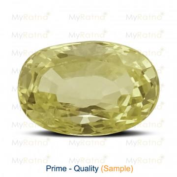 Yellow Sapphire - Prime Quality Ceylon - MyRatna