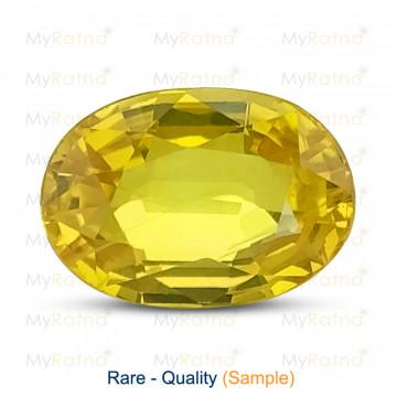 Yellow Sapphire - Rare Quality - MyRatna
