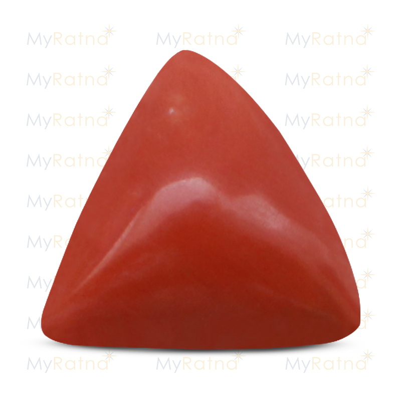 Certified Natural Red Coral 9.28 Ct (Italy) - Fine - MyRatna