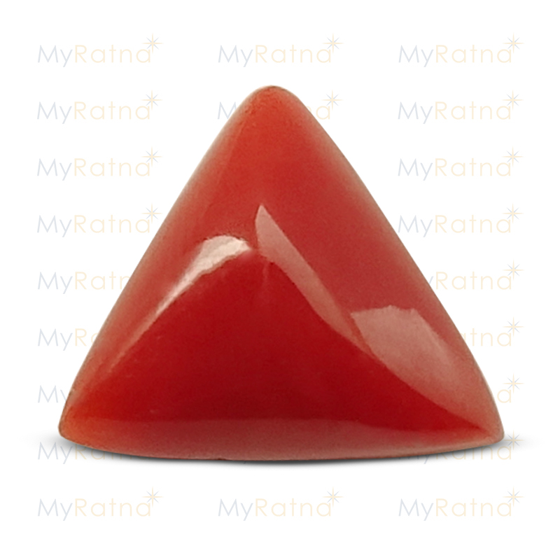 Certified Natural Red Coral 4.14 Ct (Italy) - Fine - MyRatna