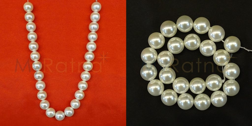 White Colour Pearls String