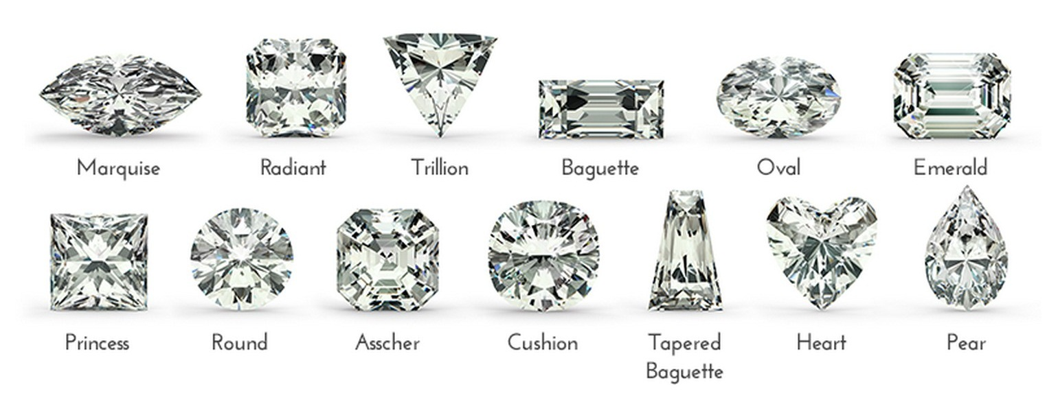 Loose Diamond Gemstone Shapes