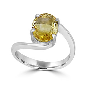 Yellow Sapphire Ring Designs