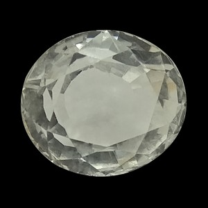 White Topaz Gemstone