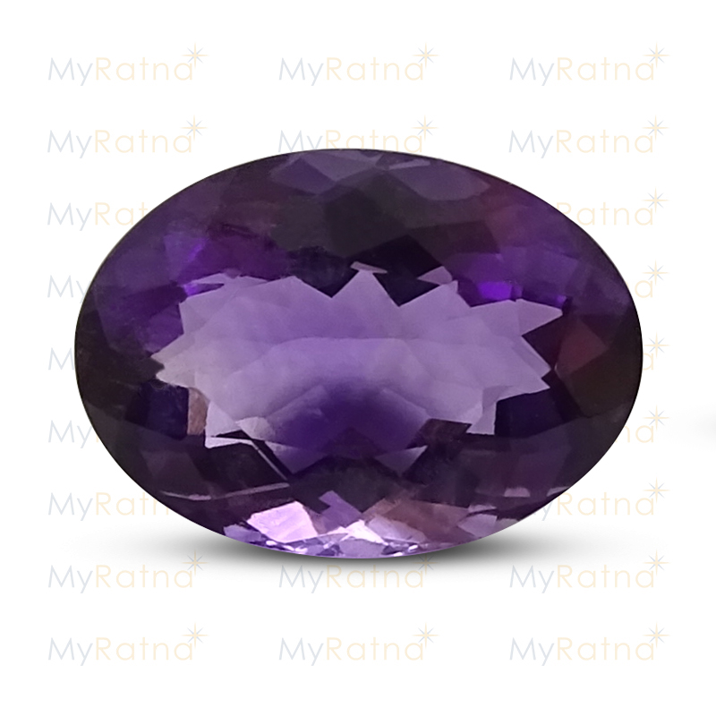 Certified Natural Amethyst 5.45 Ct (Brazil) - Limited - MyRatna