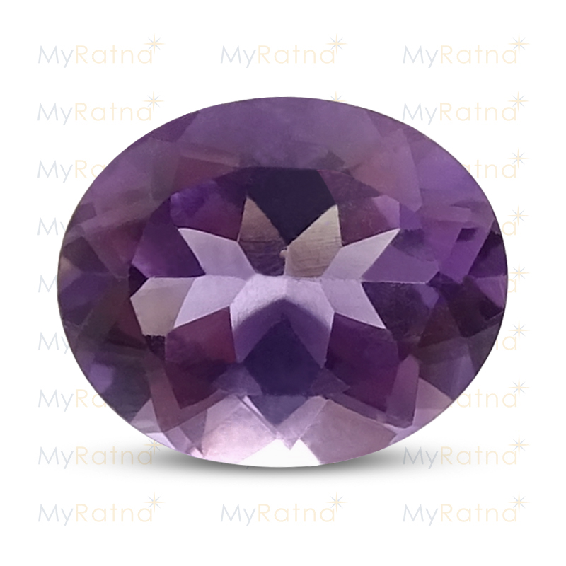 Certified Natural Amethyst 3.58 Ct (Brazil) - Limited - MyRatna