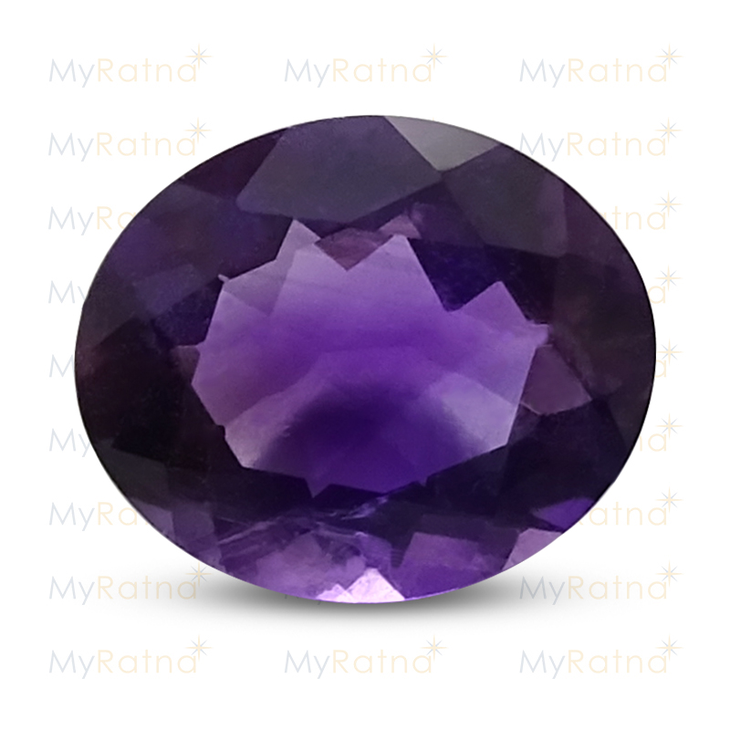 Certified Natural Amethyst 3.1 Ct - Limited - MyRatna