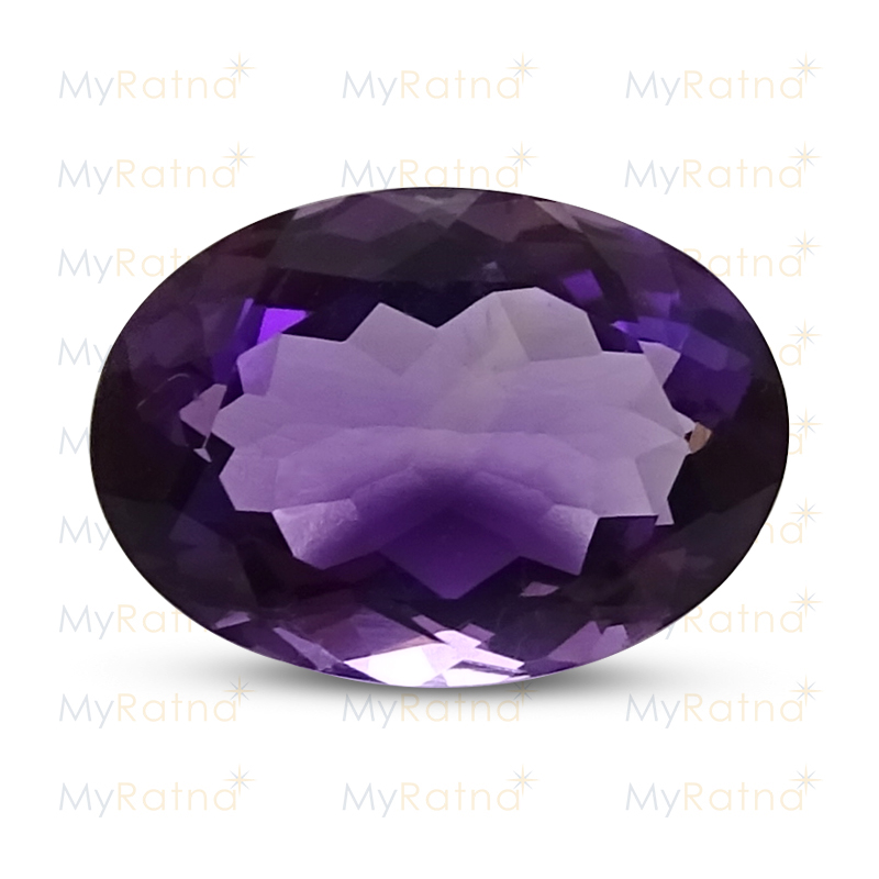Certified Natural Amethyst 5.71 Ct (Brazil) - Limited - MyRatna