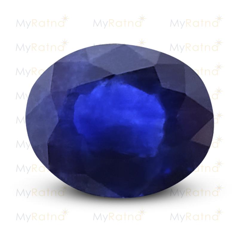 Certified Natural Blue Sapphire 4.68 Ct (Bangkok) - Prime - MyRatna