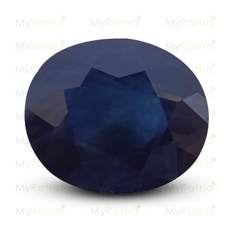 Certified Natural Blue Sapphire 5.06 Ct (Bangkok) - Prime - MyRatna