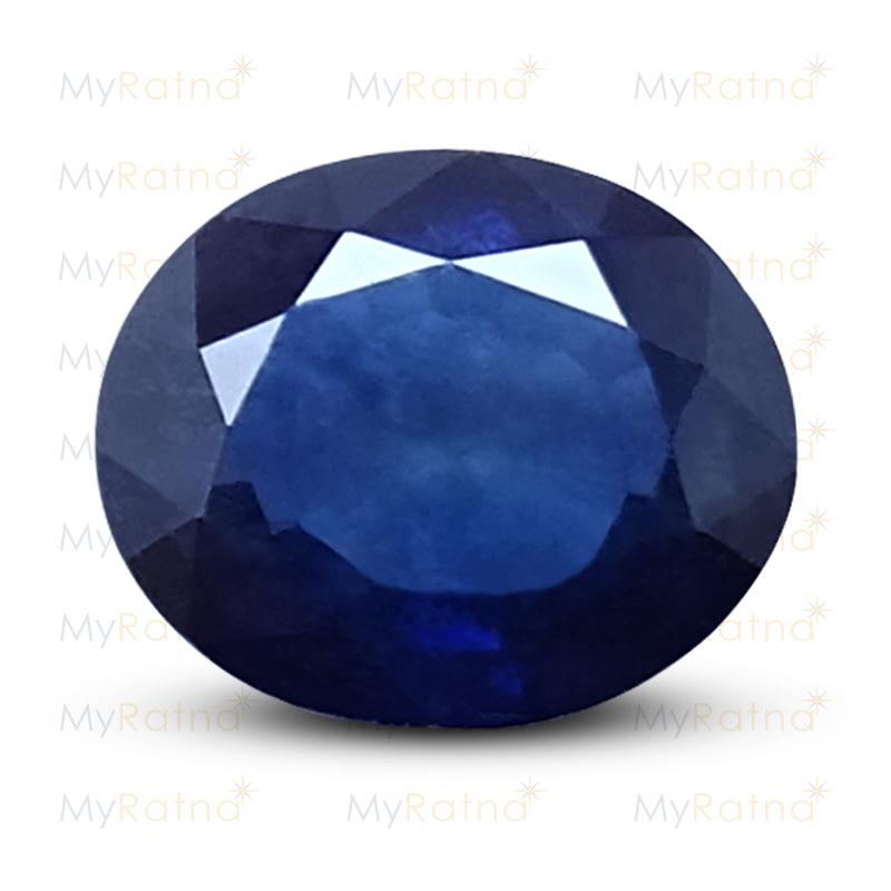 Certified Natural Blue Sapphire 3.6 Ct (Bangkok) - Prime - MyRatna