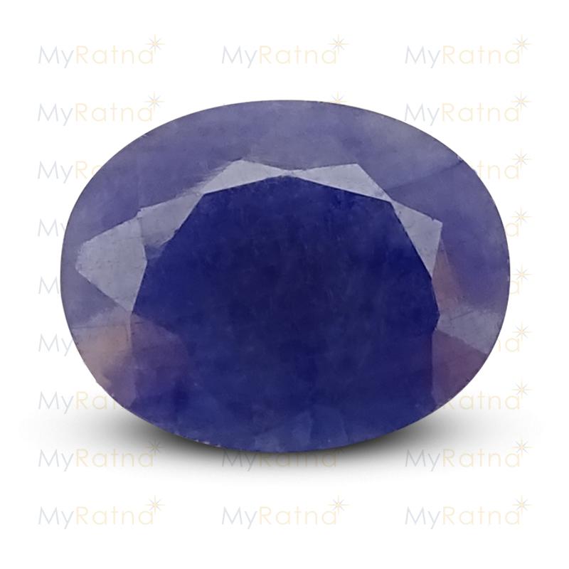 Certified Natural Blue Sapphire 11.48 Ct (Africa) - Fine - MyRatna