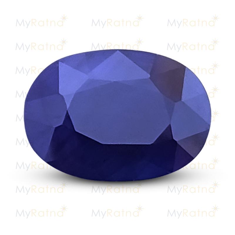 Certified Natural Blue Sapphire 6.2 Ct (Bangkok) - Fine - MyRatna
