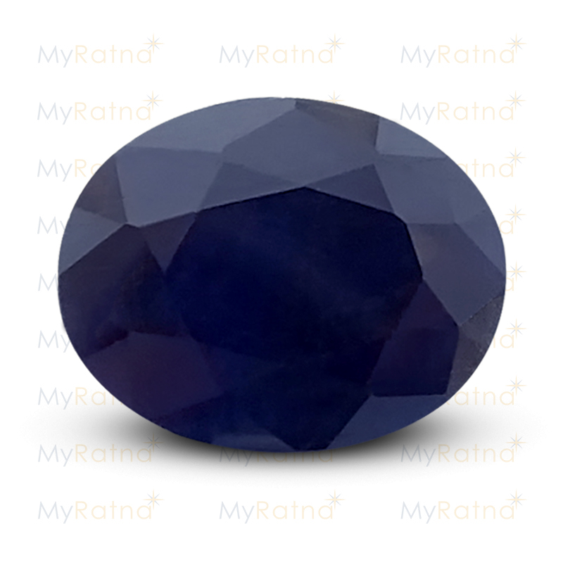 Certified Natural Blue Sapphire 5.73 Ct (Bangkok) - Fine - MyRatna