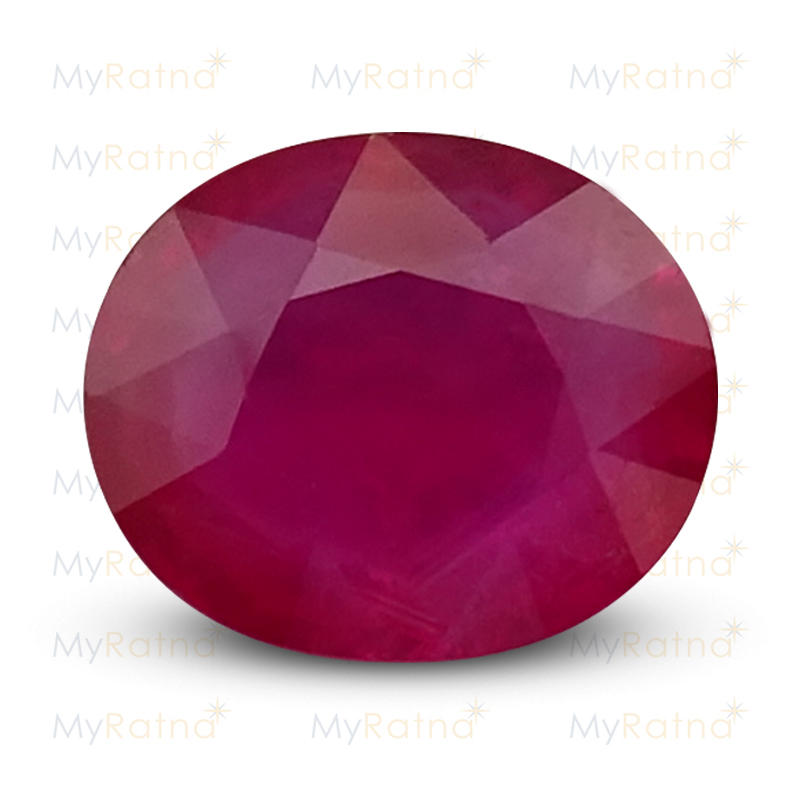 Certified Natural Ruby 7.64 Ct (Bangkok) - Prime - MyRatna