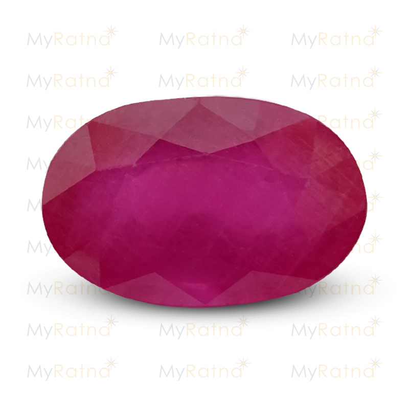 Certified Natural Ruby 8.31 Ct (Bangkok) - Prime - MyRatna