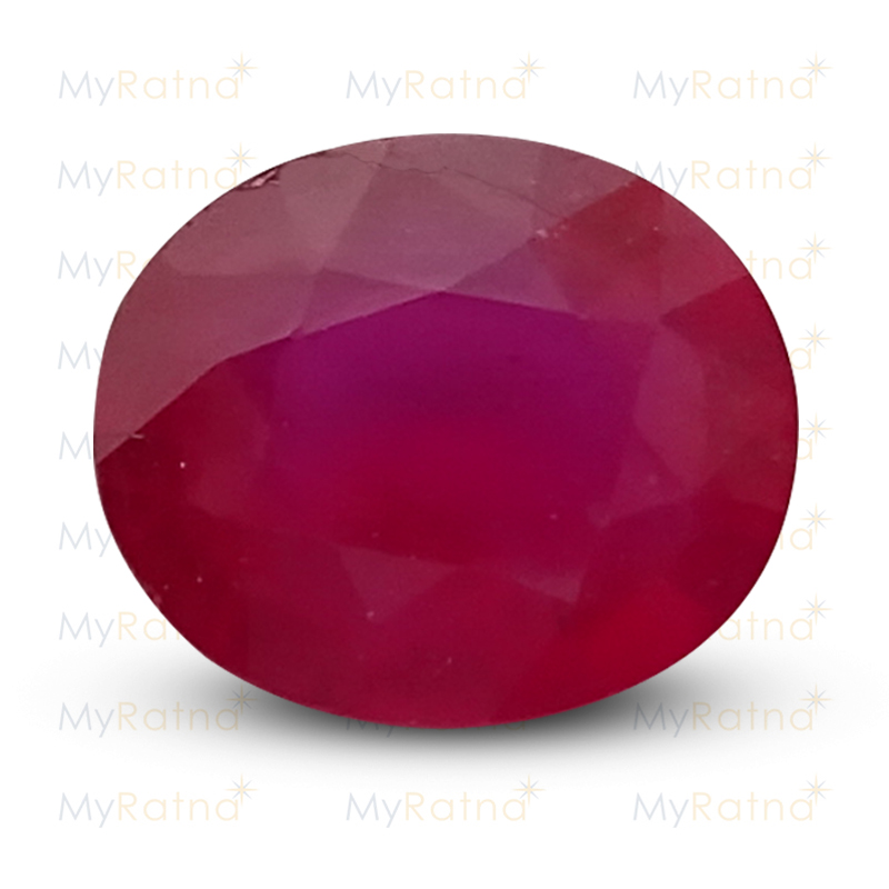 Certified Natural Ruby 6.62 Ct (Bangkok) - Prime - MyRatna
