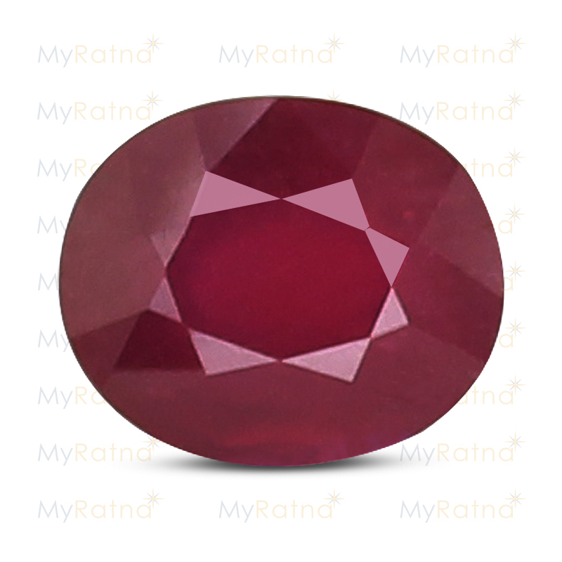 Certified Natural Ruby 7.51 Ct (Bangkok) - Fine - MyRatna