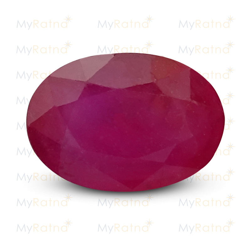 Certified Natural Ruby 5.95 Ct (Bangkok) - Prime - MyRatna