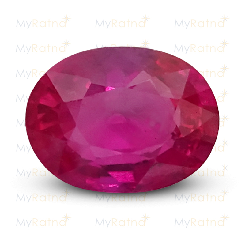 Certified Natural Ruby 4.31 Ct (Bangkok) - Limited - MyRatna
