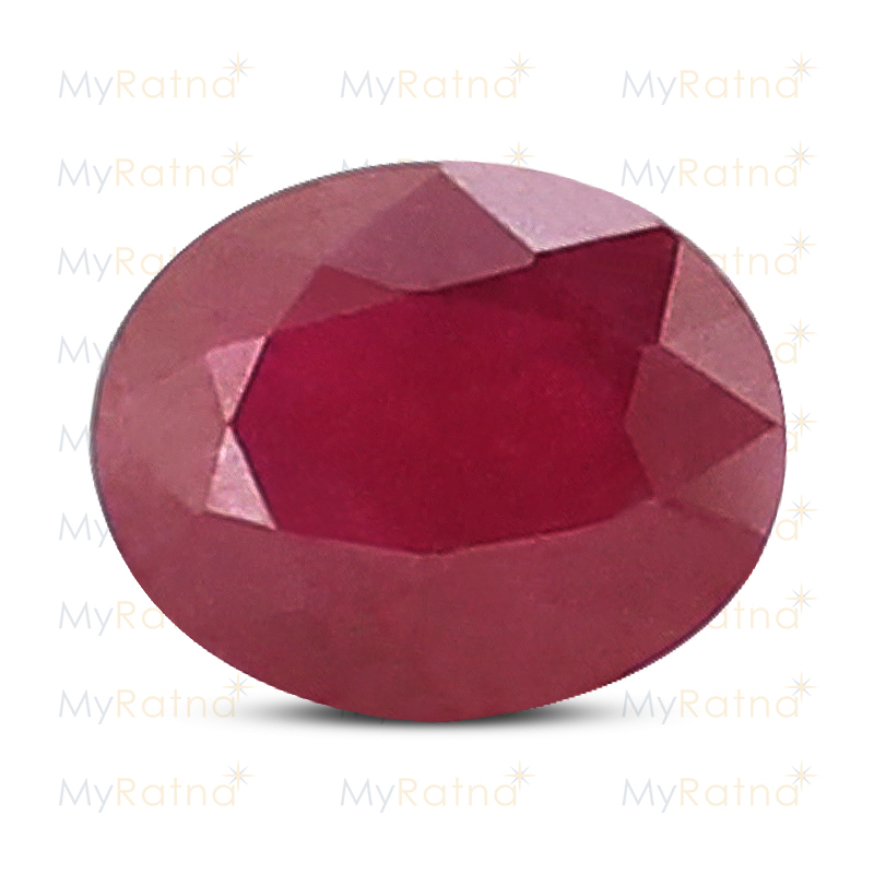 Certified Natural Ruby 3.18 Ct (Bangkok) - Fine - MyRatna