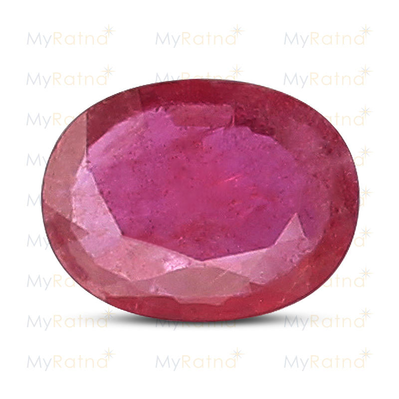 Certified Natural Ruby 3.03 Ct (Bangkok) - Prime - MyRatna