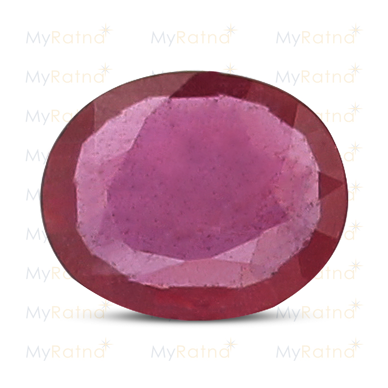Certified Natural Ruby 3.26 Ct (Bangkok) - Prime - MyRatna