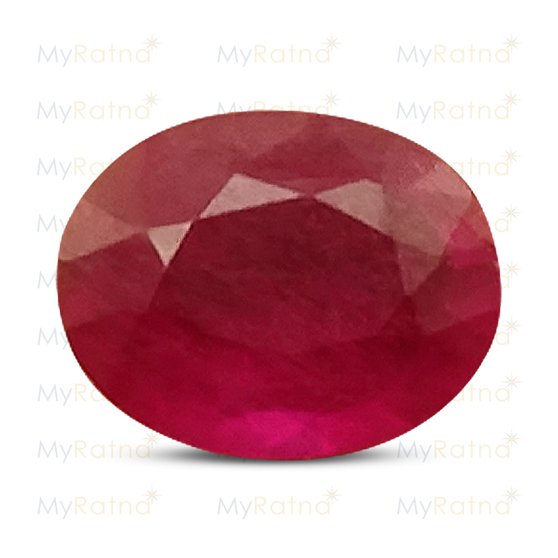 Certified Natural Ruby 3.92 Ct (Bangkok) - Limited - MyRatna