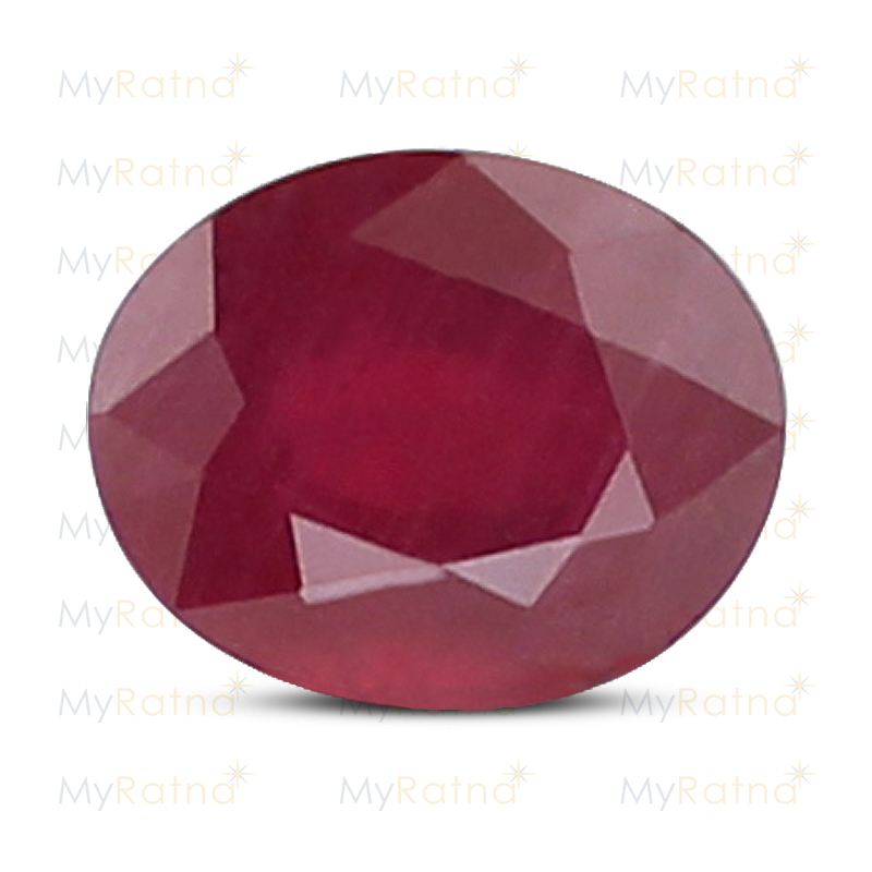Certified Natural Ruby 3.18 Ct (Bangkok) - Prime - MyRatna