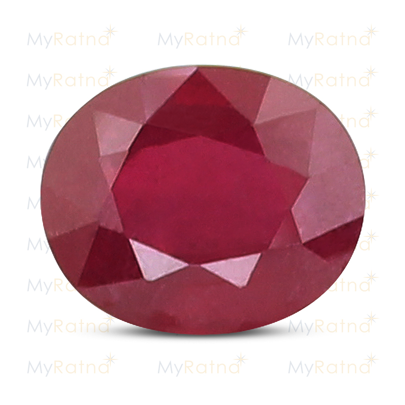 Certified Natural Ruby 7.2 Ct (Bangkok) - Fine - MyRatna