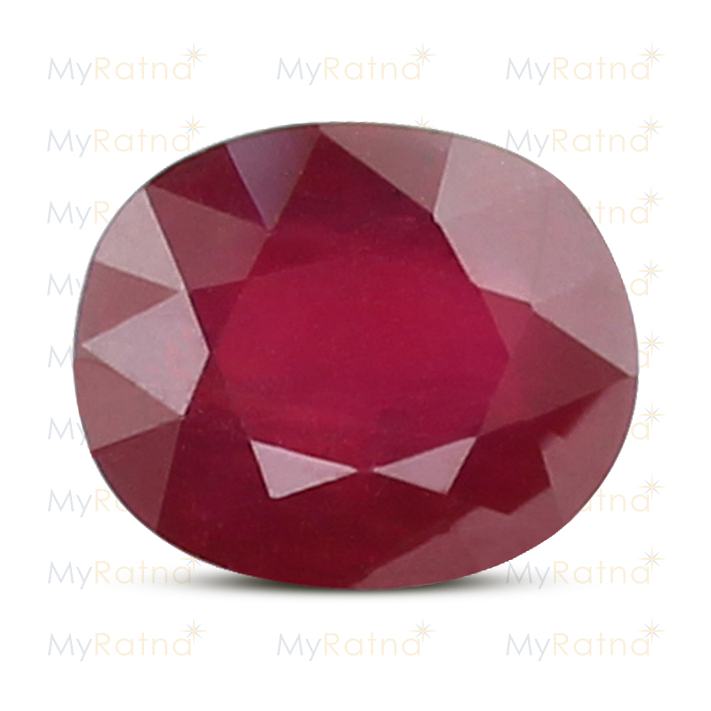 Certified Natural Ruby 7.55 Ct (Bangkok) - Fine - MyRatna