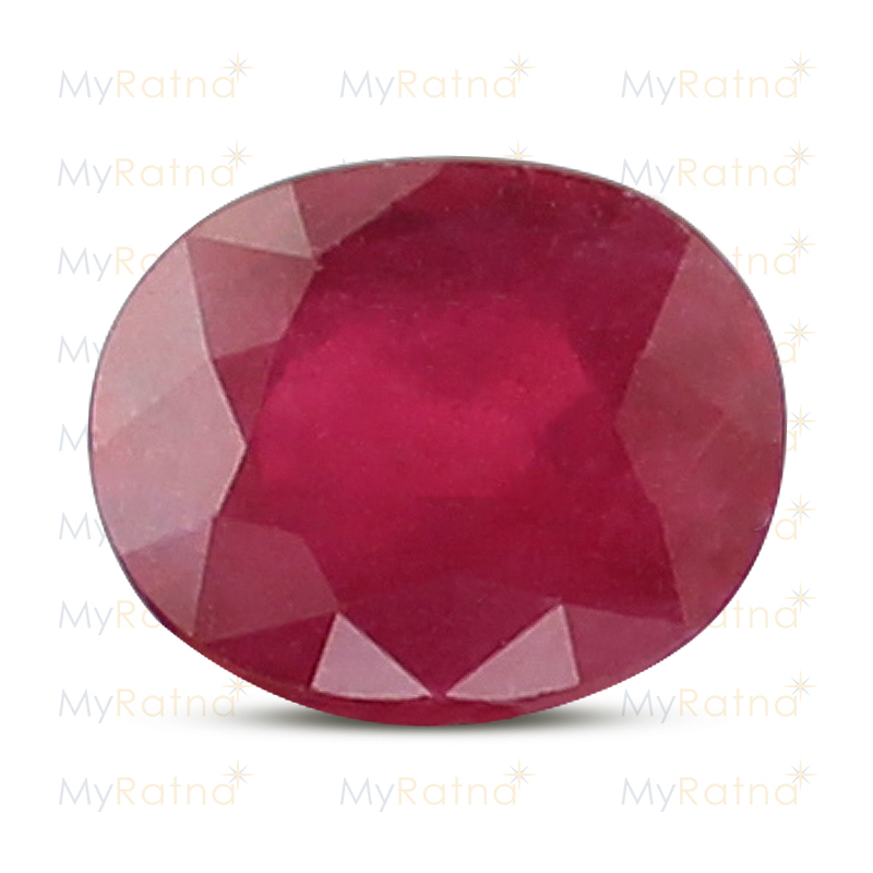 Certified Natural Ruby 3.85 Ct (Bangkok) - Fine - MyRatna