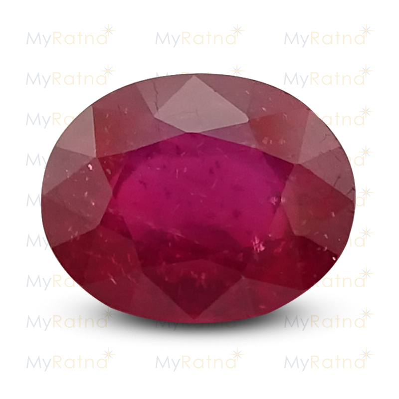 Certified Natural Ruby 3.88 Ct (Bangkok) - Prime - MyRatna