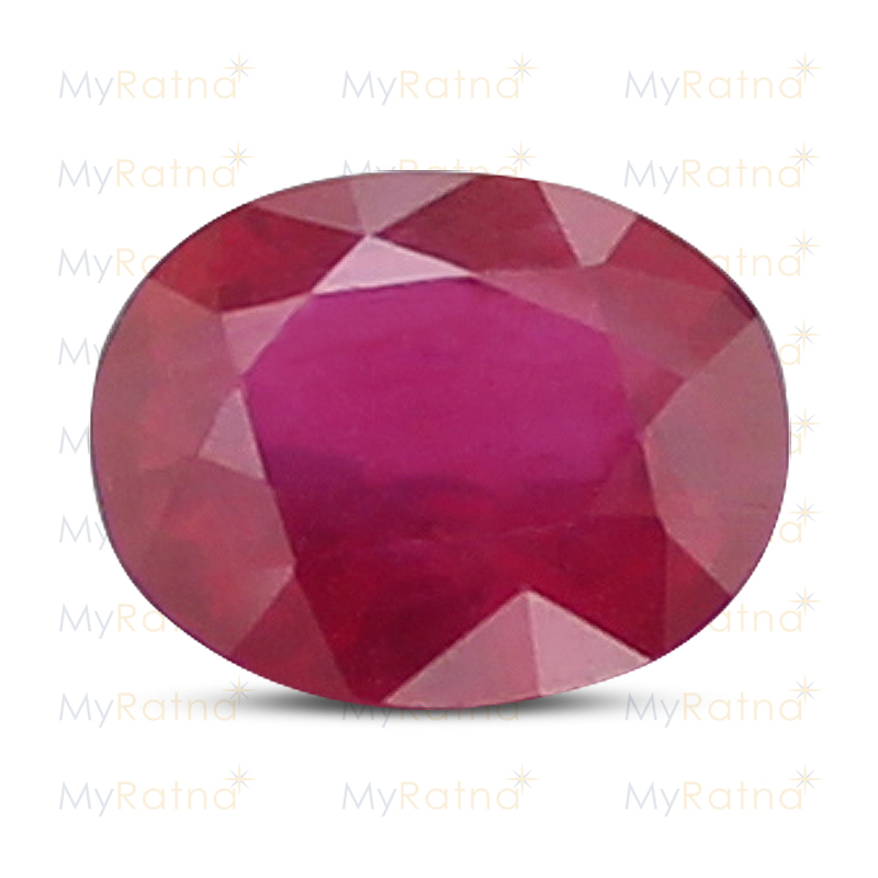 Certified Natural Ruby 3.77 Ct (Bangkok) - Limited - MyRatna