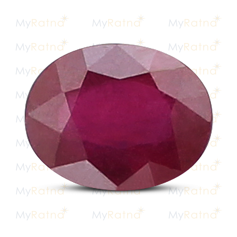 Certified Natural Ruby 3.71 Ct (Bangkok) - Prime - MyRatna
